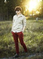calças coloridas masculinas