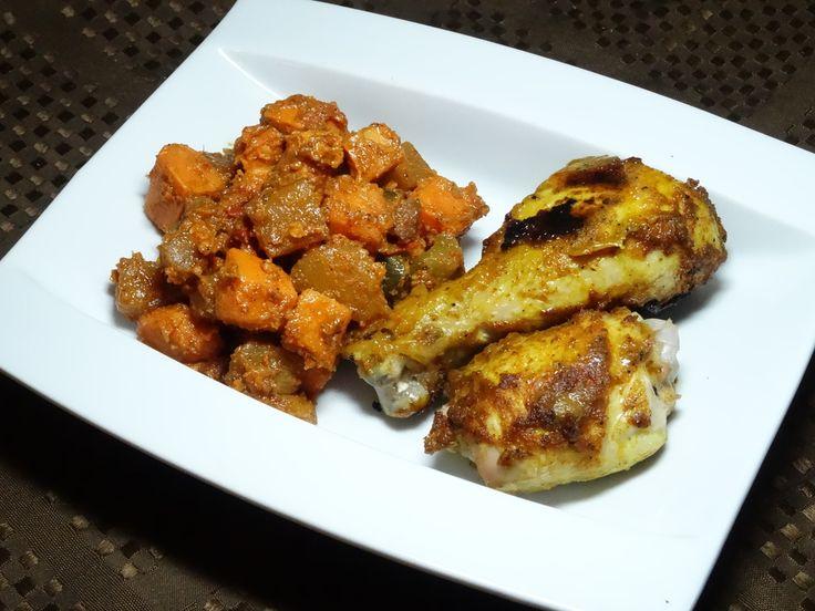 East Indian Tikka Chicken - gluten free, dairy free, paleo, easy
