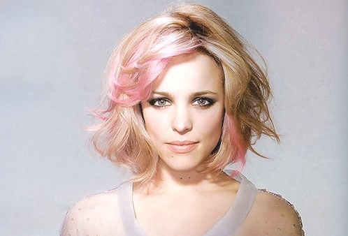 Hair!    Rachel McAdams can pull off ANY hair color and style!!!