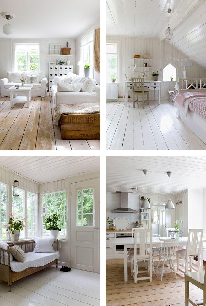 #Scandinavian #white living