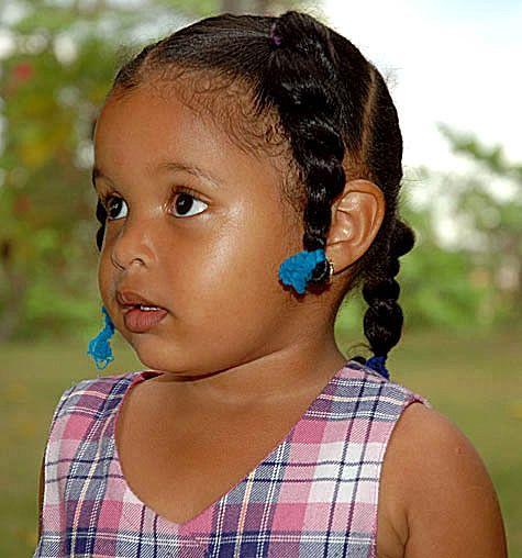 Dominican Republic Little Girls  Little Dominican Girl, A -9988