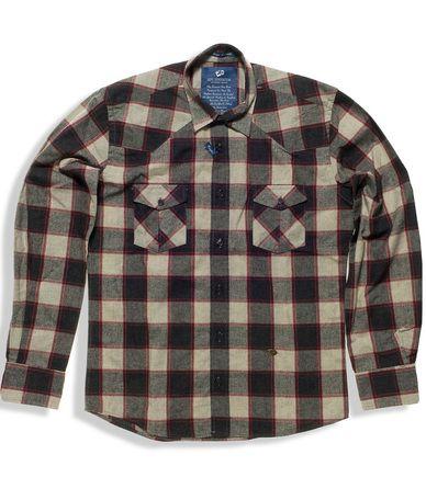 Ανδρικό casual πουκάμισο καρό, 100% βαμβακερό σε κανονική γραμμή. Μοντέρνο σχέδιο με 2 τσεπάκια στο στήθος. Συνδυάστε το ιδανικά με τζιν παντελόνι για casual