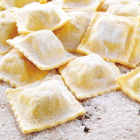 Ricetta Ravioli di burrata con tartufo