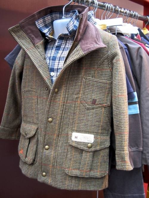 tweed coat. for a little man. perfect!