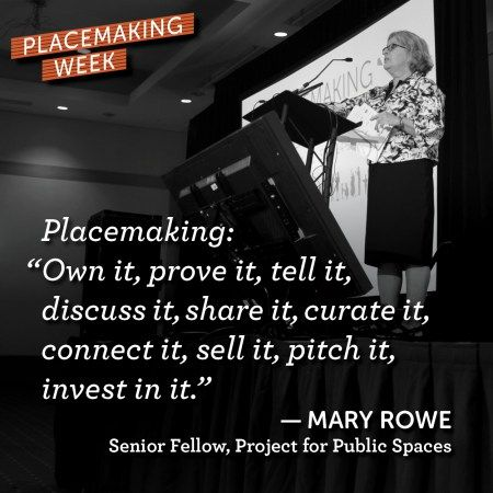 Placemaking: