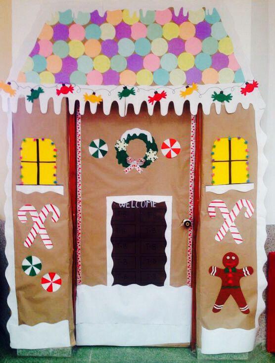61 best christmas door decorations images on Pinterest ...