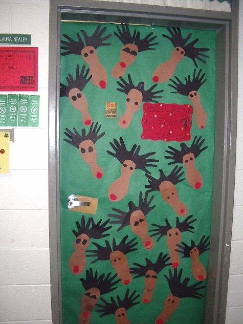 Reindeer Door Class Winter Ideas Pinterest Reindeer