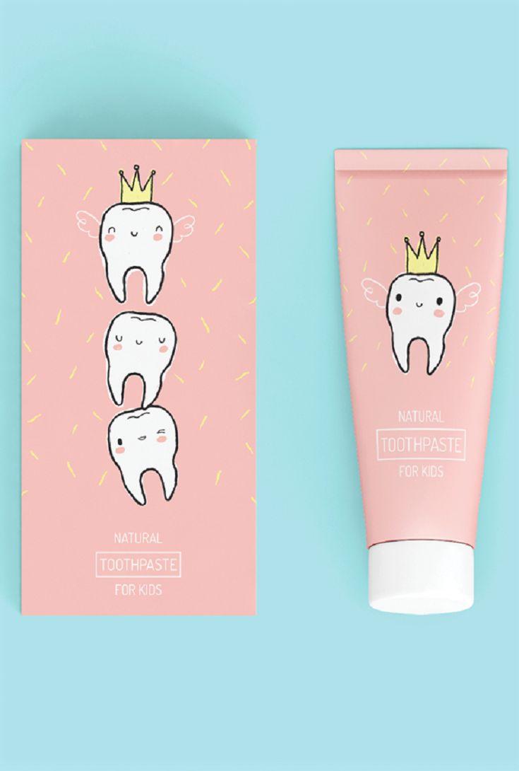Tooth Fairy Kids Toothpaste (Concept) by Paulina Helena Undziakiewicz