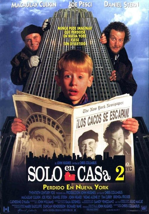Watch Home Alone 2 Lost In New York 1992 Full Movie Online
