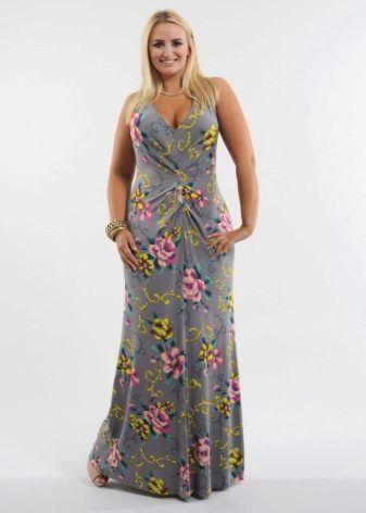 Длинные летние платья 2017 (126 фото): новинки, красивые, фасоны, с длинным рукавом, трикотажное