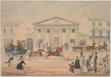 New Post Office, George Street,Sydney,1846 Edward Winstanley