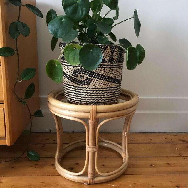 Vintage Cane Plant Stand Stool Side Table Other Home Decor Gumtree Australia Moreland Area Coburg 1208739524 Vintage Vintage Shops Home Decor