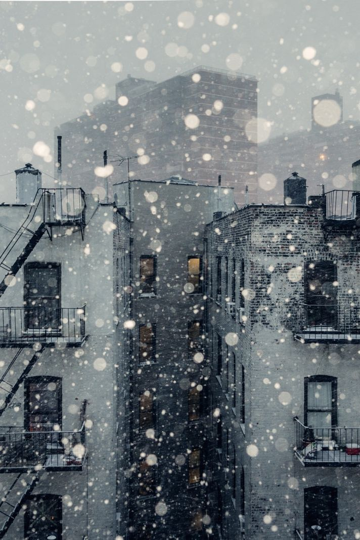 the poetry of material things Snow Winter