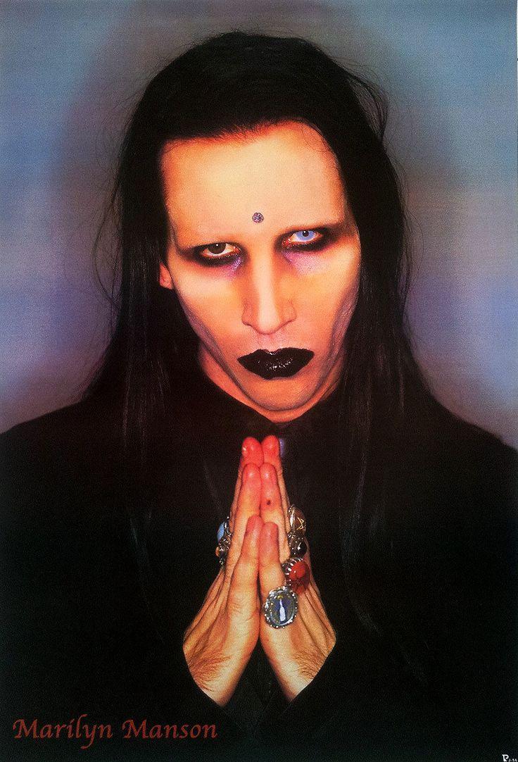 Marilyn Manson 1989 Now Poster Rock Alternative Heavy Singer Actor Painter V3 | eBay