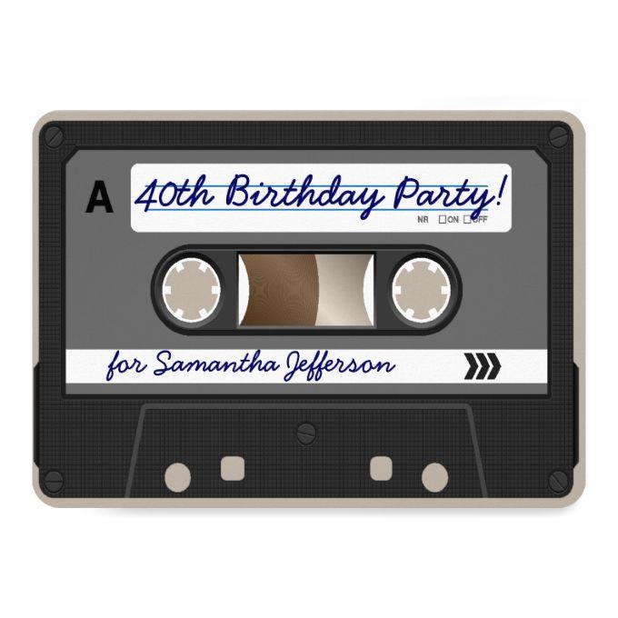 1342 best 40th birthday invitations images on pinterest, Birthday invitations