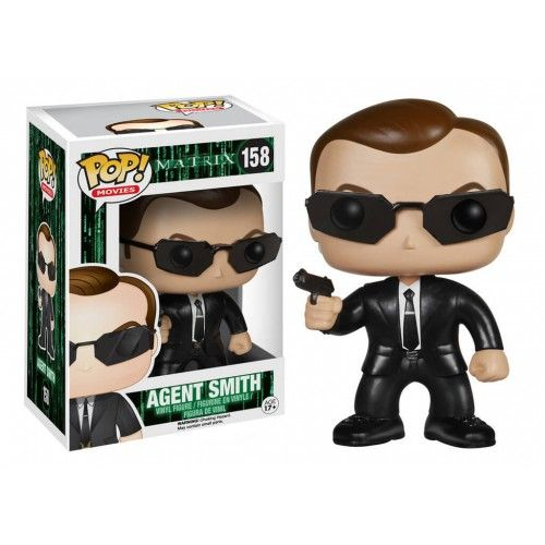 Funko Pop! Agent Smith, Agente Smith, Matrix, Filmes, Funkomania