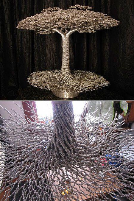 25 unique metal tree ideas on pinterest metal christmas. Black Bedroom Furniture Sets. Home Design Ideas