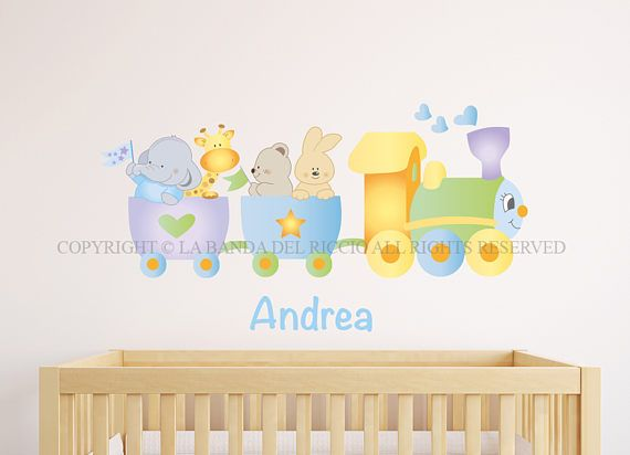 Adesivi murali bambini  Wall decals Baby Wall stickers