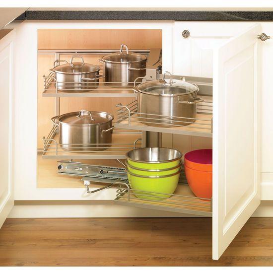 8 best images about blind corner hardware on pinterest for Blind corner kitchen cabinet ideas