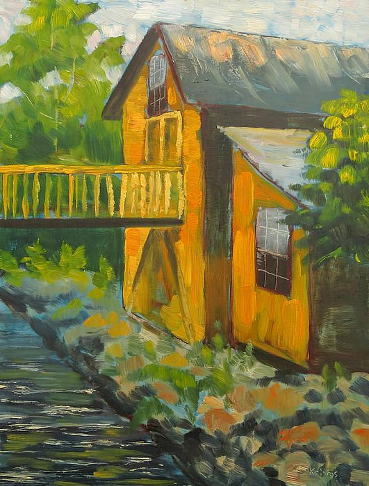 The Old Grist Mill by Kristos Raftopoulos