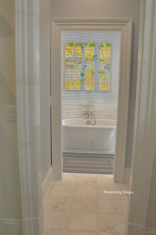 91 best images about southern living 2015 idea house on for Southern bathroom ideas