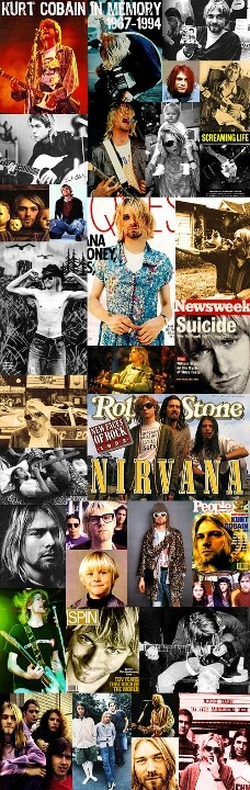 NIRVANA ~ In Memory of KURT COBAIN   1967-1994  R.I.P ♥