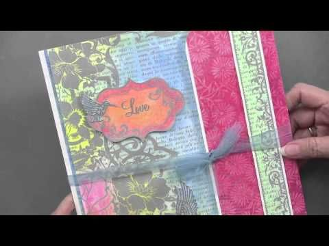 Mixed Media DVD by Sara Naumann - Paper Wishes Weekly Webisodes