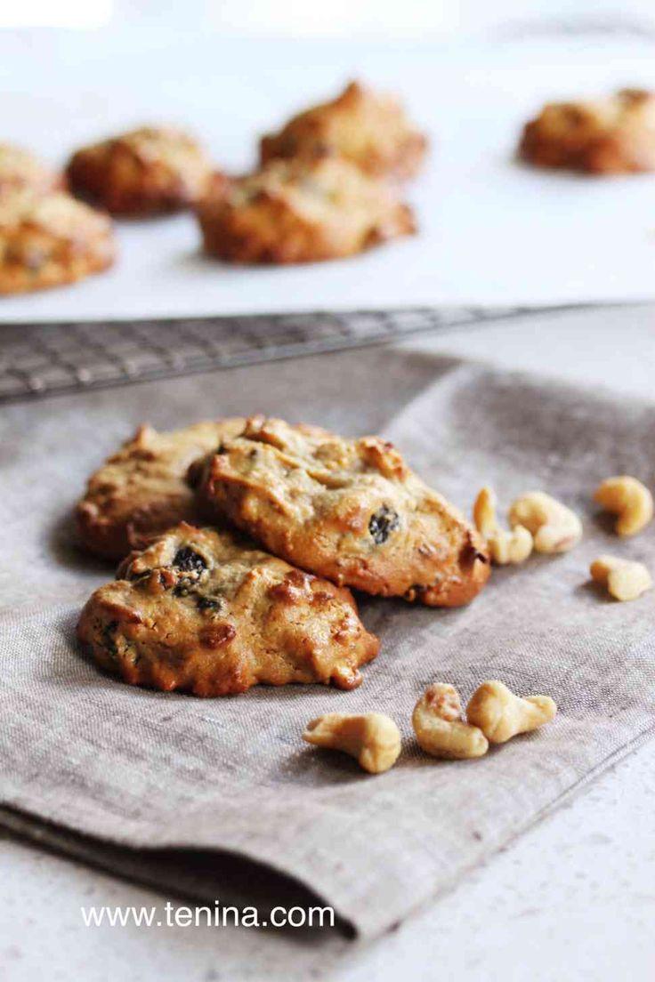 Thermomix recipe: Cashew Nut Cookies · Tenina.com