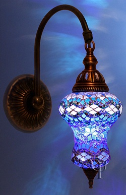 Turkish Mosaic Wall Lamp