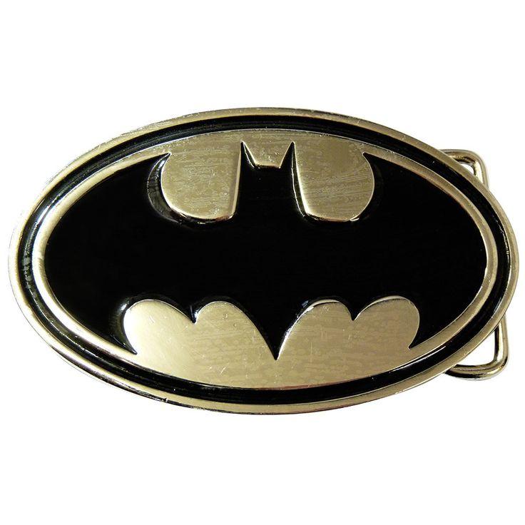 Batman Belt Buckle - Chrome & Black - BBT Clothing - 1