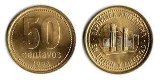 Resultado de imagen para monedas argentinas para imprimir