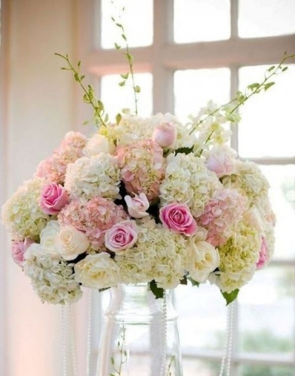 Hydrangea Centerpieces Ideas : Best wedding flowers images on pinterest