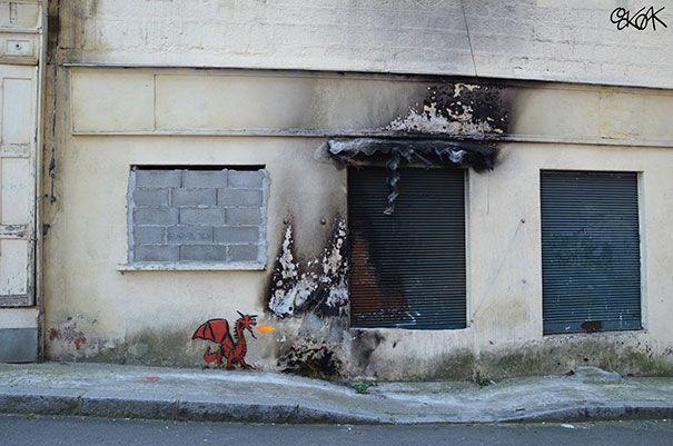 Culprit - 10+ Random Acts Of Genius Vandalism