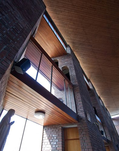 st patrick's - louvred wall, gillespie kidd & coia, scottish architecture | Flickr - Photo Sharing!