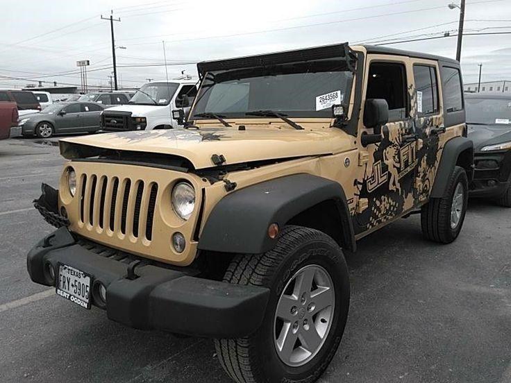 eBay 2015 Jeep Wrangler Sport 2015 Jeep Wrangler