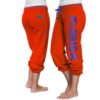 Florida Gators Ladies Glimmer Capri Pants - Orange 36.95