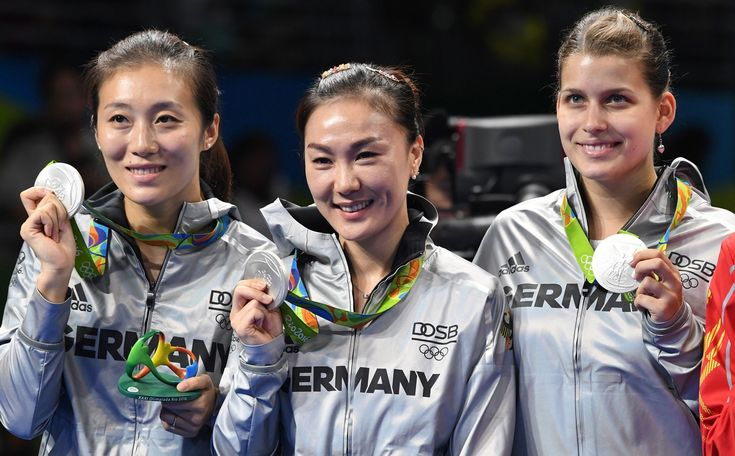 TABLE TENNIS-OLYMPIA-2016-RIO-PODIUM Petrissa Solja – B.Z. Berlin