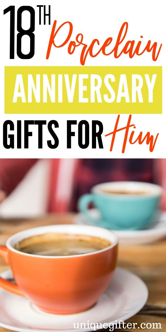18th Porcelain Modern Anniversary Gifts