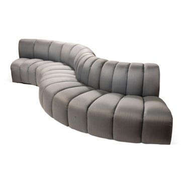 Check out this item at One Kings Lane! Serpentine Modular Sofa