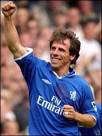 Gianfranco Zola - soccer player and coach. Lovely man - shame there's not more in the game like him
