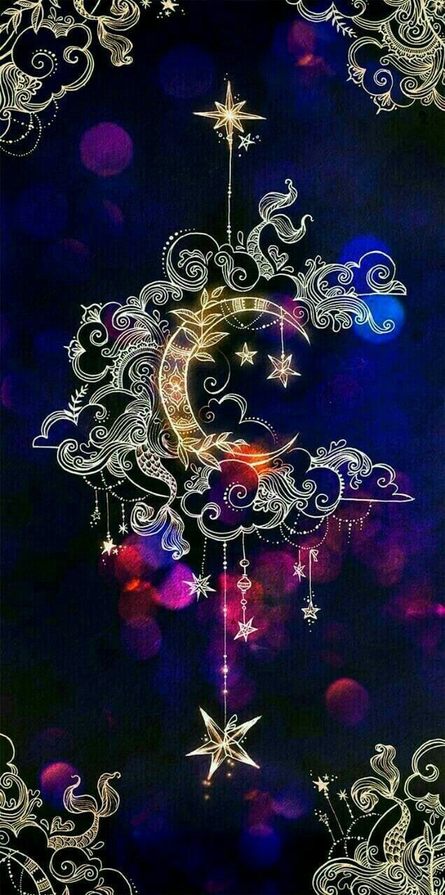 Pin By Joe A Escamilla On Wicca Art Wallpaper Moon Art Iphone