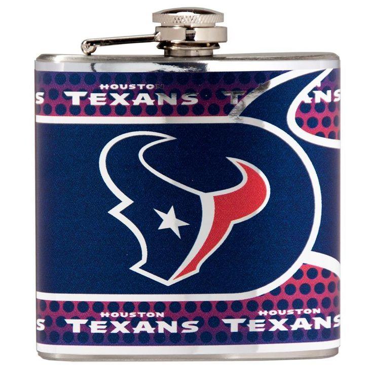 OneStopFanShop - Houston Texans Flask Stainless Steel Drink Bottle, $36.95 (https://www.onestopfanshop.com/departments/houston-texans-flask-stainless-steel-drink-bottle/)