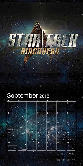 Internet das Coisas!!!: Star Trek Discovery Wall Calendar