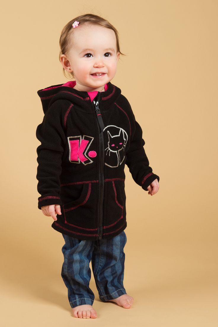 Mignon coton ouaté Katie K. dessiné par Mode Choc. #baby #girly #fashionkids #kids #mode #modechoc