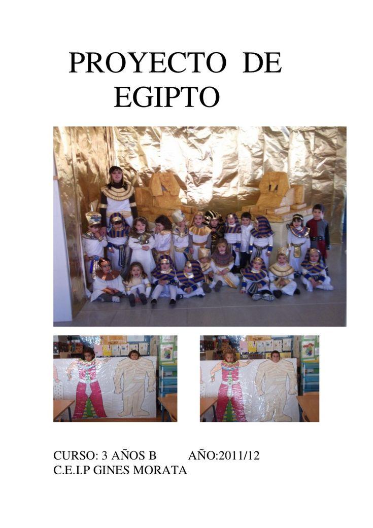 proyecto-de-egipto-3-aos-b-12890703 by MAR JURADO via Slideshare