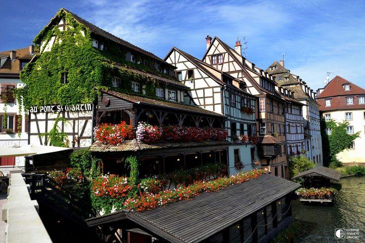 Страсбург - столица Эльзаса, интеллектуальный, культурный и промышленный центр северо-восточной Франции. - Путешествуем вместе