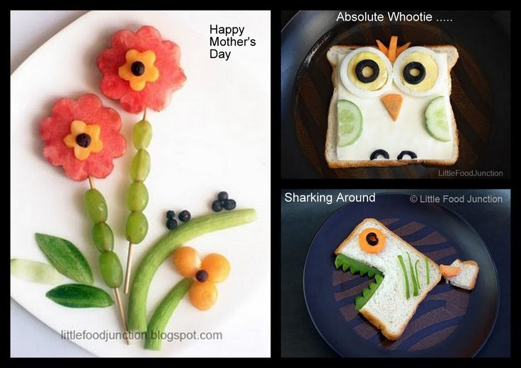 *The Variable - Crazy Over Desserts: Food Art for Kids ~ By my Guest SmitaFun Food, Funfood, For Kids, Creative Food, Sharks Food, Food Art, Guest Smita, Kids Food