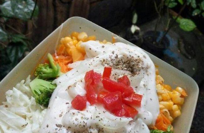 Resep Salad Sayur Mayonaise Resep Salad Resep Masakan Saus Salad
