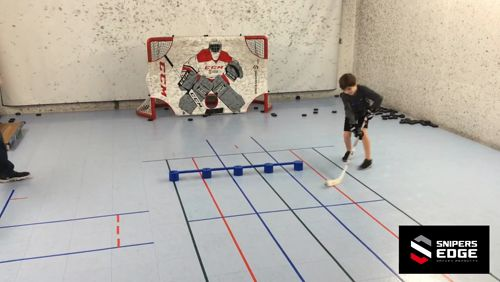"""Watch 7yr old Nicholas warm up with this weekly """"Straddle Partner Passing and Stick Handling"""" drill.   Cyber Monday is tomorrow, Holiday shop from the comfort of your home at https://www.snipersedgehockey.com?utm_content=buffer71f55&utm_medium=social&utm_source=pinterest.com&utm_campaign=buffer Official Training Aid Supplier to CCM #hockey #ccm #goal https://video.buffer.com/v/5a1337cd936392ca48180318"""