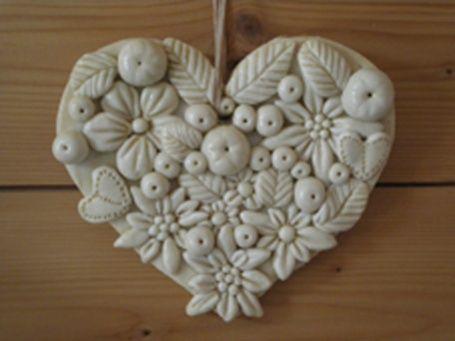 Coeur en pâte à sel